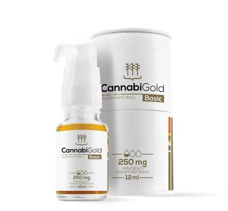 CANNABIGOLD Basic 250mg 12ml
