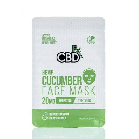 CBD face mask - Cucumber