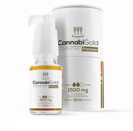 Cannabigold premium 1500mg 12ml