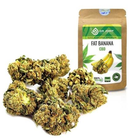 Dr.Joint - PREMIUM Dry CBD 5% - Fat Banana