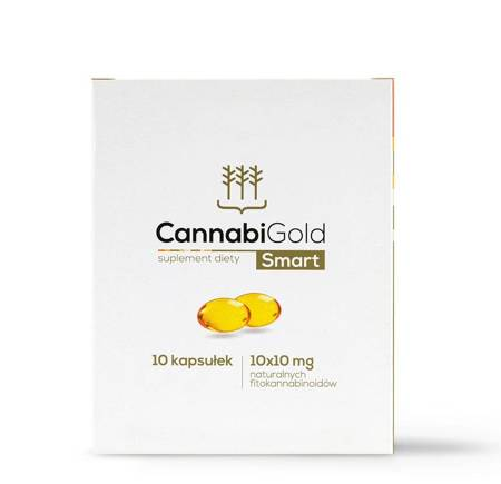Cannabigold Smart 10 kaps.